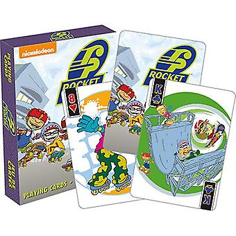 Rocket Power peli kortit