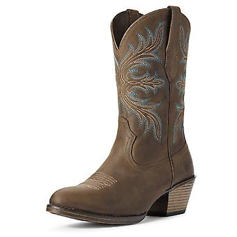 Ariat Kobiety Runaway Western Boot - Distressed Brown