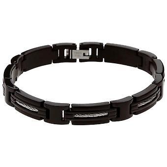 Remmen ratchet B062391 - armband Marina svart man