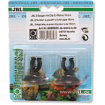JBL Suckerwith Clip 16 mm (Fish , Aquarium Accessories , Tubes, Suction Pads & Clips)