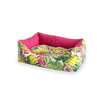 Ferribiella 3 Rect.Tropical Dogbeds 60-70-80Cm Pink (Cats , Bedding , Beds)
