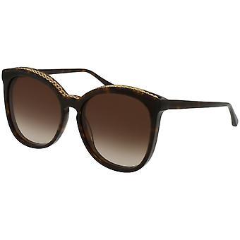 Stella McCartney SC0074S 002 Havana/Brown Gradient Sunglasses