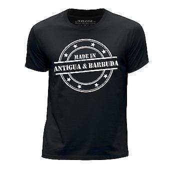 STUFF4 Boy's Round Neck T-Shirt/Made In Antigua & Barbuda/Black