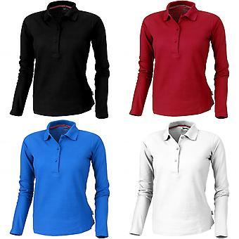 SLAZENGER mujeres/señoras punto camisa de manga larga Polo