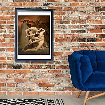William Bouguereau - Dante and Virgile Poster Print Giclee
