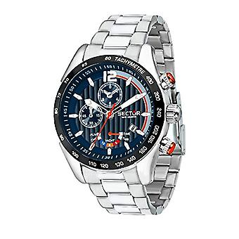 Sector Chronograph quartz men with stainless steel strap R3273794010