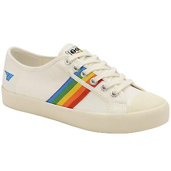 Gola Coaster Rainbow Womens Canvas Trainesr