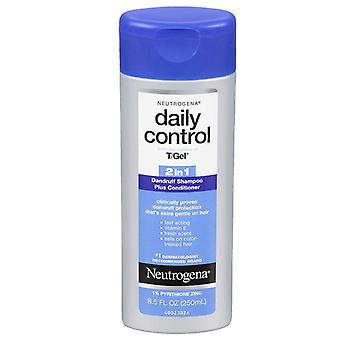 Neutrogena controleren dagelijks 2-in-1 roos shampoo + conditioner, 8,5 oz