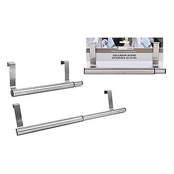 Dörr hängare Confortime utdragbart stål (25 cm)