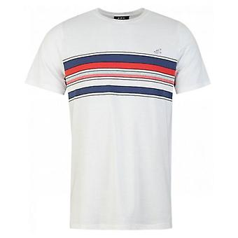 Apc Gaston Stripe Chest T-Shirt