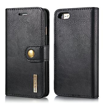 Mobile case for iPhone 7 - mobile wallet in real leather