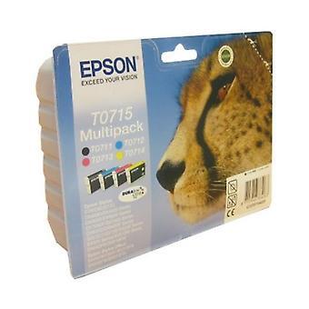 Cartouche d'encre d'origine Epson C13T07154010 noir jaune cyan magenta