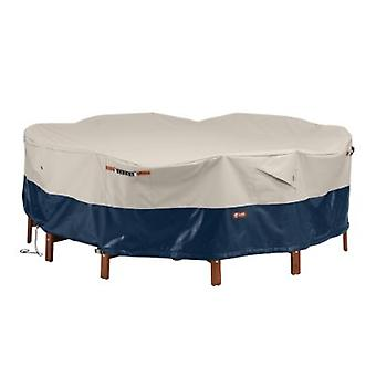 Classic Accessories Mainland Patio Round Table And Chair Set Cover, 94Dia