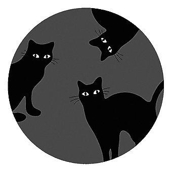 Kids Rug - Cats II - Wasbaar - Cirkel 75 cm