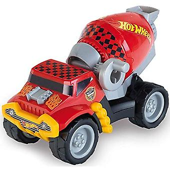 Theo Klein Hot Wheels Cement Truck Scale 1:24 Toy with Functional Drum with