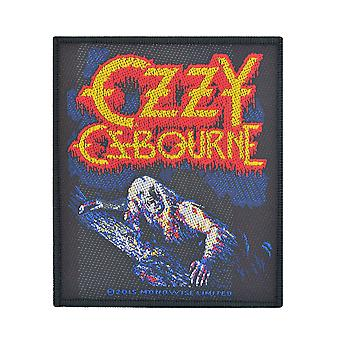 Ozzy Osbourne-Bark At The Moon geweven Patch