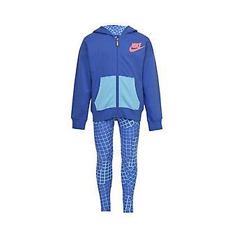 Trainingsanzug für Kinder Nike 923-B9A Blue/5-6 Jahre