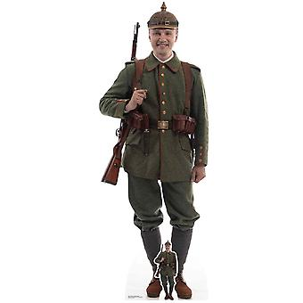 German World War 1 Soldier Cardboard Cutout / Standee / Standup / Standee