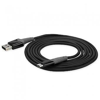 SCOSCHE STRIKELINE MICRO USB 72 INCH (6FT) CABLE - BLACK