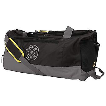 Gold's Gym - Unisex Bag with Contrast Print - for Workout - Fitness - Color: Grey/Black - One Size