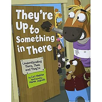 They're Up to Something in There: Understanding There, Their, and They're (Language on the Loose)