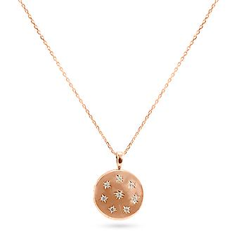 Necklace Locket Constellation 18K Gold