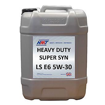 HMT HMTM446 Heavy Duty  Fully Synthetic Super Syn LS E6 5W-30 Oil - 20 Litre