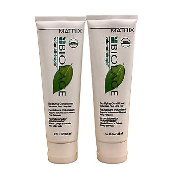 Matrix Volumatherapie Bodifying Conditioner Fine & Limp Hair 4.2 OZ Set of 2