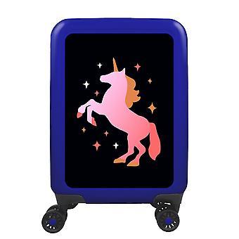 mytrolley Unicorn S, 4 rolls, 55 cm, 32 L, Blue