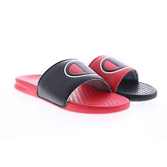 Campione Super Slide Mix Match Uomo Nero Slip On Slides Sandals Scarpe