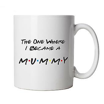Ainoa, jossa minusta tuli Muumio Muki Cup Lahja TV-sarja Vauva Raskaana Ystävät Äiti