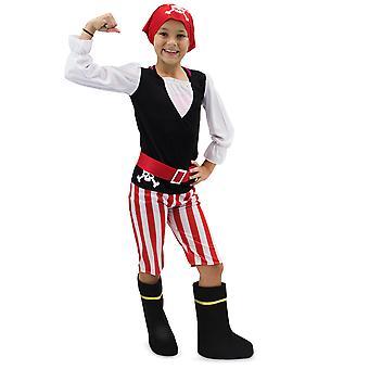 Destul de Pirat Copiiăs Costum, 10-12