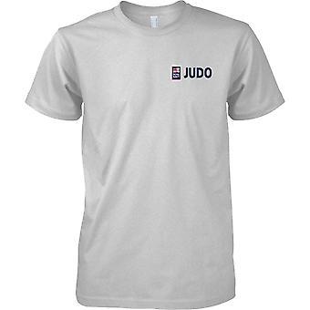 RN Judo Logo 1 - Royal Navy Sports T-Shirt Colour