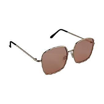 Sunglasses Ladies Square - Gold/LichtrozeHL206_2