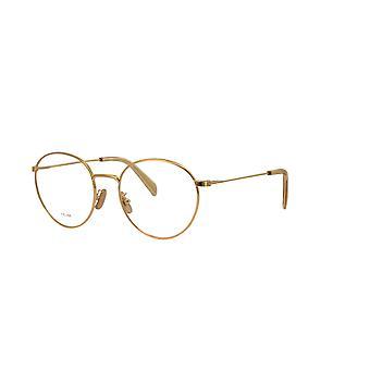 Celine CL50036U 030 Shiny Endura Gold Glasses