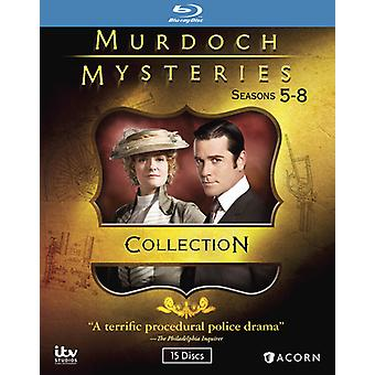 Murdoch Mysteries Collection 5-8 [Blu-ray] USA import