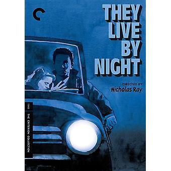 De Live by Night [DVD] USA importerer