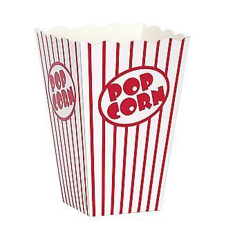 Unik Party kartong Popcorn boxar (10 Pack)