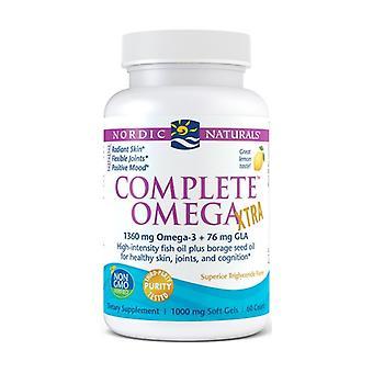 Complete Omega Xtra 1360 mg 60 softgels