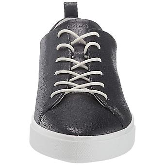 ECCO Womens Gillian Leather Low Top Lace Up Fashion Sneakers