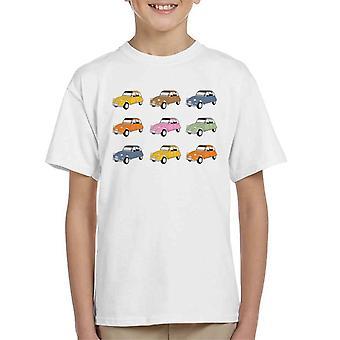 Citro?n Vintage 2CV farver Kid's T-shirt