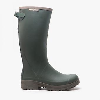 Goodyear Stream Mens Rubber Wellington Boots Vert