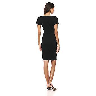 ブランド - ラーク&ロ女性&アポ;s着物スリーブクルーネックシースドレス、ブラック10