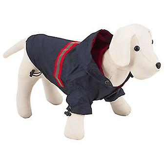 Nayeco Светоотражающий Собака плащи синий 45см (собаки, Одежда для собак, плащи)