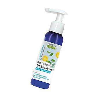 Organic Light Legs Cream Gel 100 ml of gel