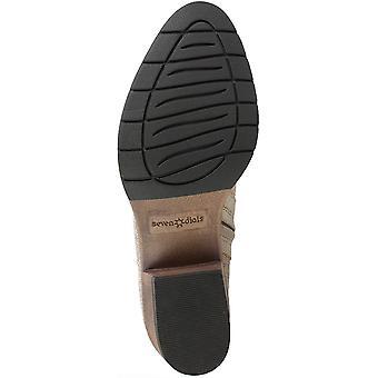 Seven Dials Womens uma Fabric Almond Toe Ankle Fashion Boots