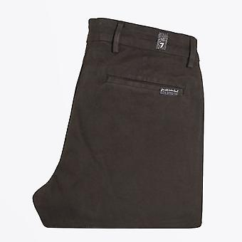 7 For All Mankind  - Slimmy Luxe Chinos - Dark Green
