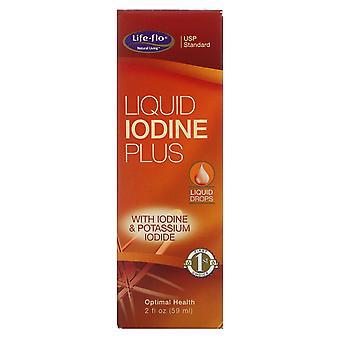 Life-flo, Iode liquide Plus, 2 fl oz (59 ml)