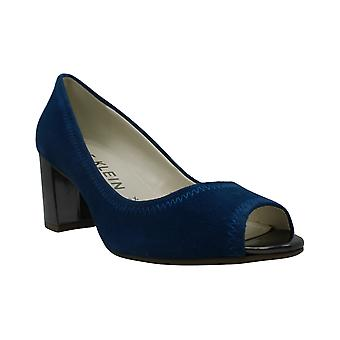 Anne Klein Womens Meredith Peep Toe klassiske pumper
