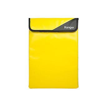 Cygnett keltainen hiha suojaava tabletti hihassa